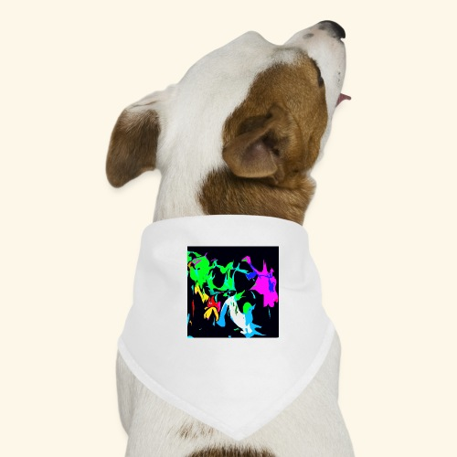 Ragnatele colorate - Bandana per cani