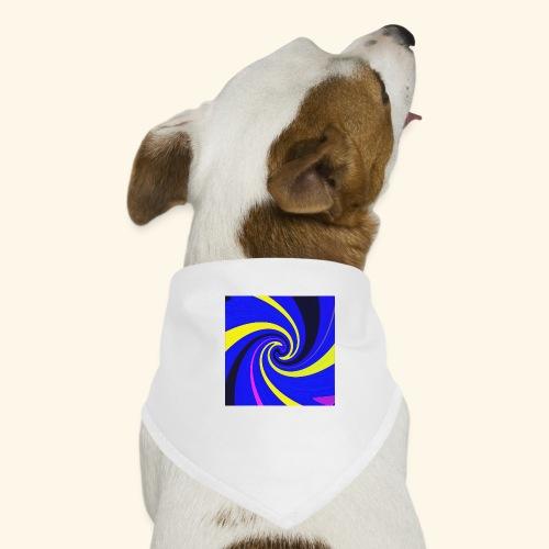 Vortice giallo - Bandana per cani