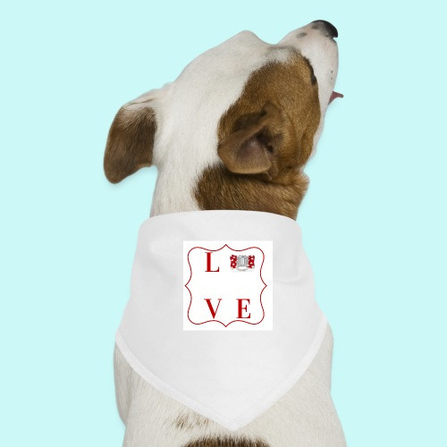 love - Dog Bandana