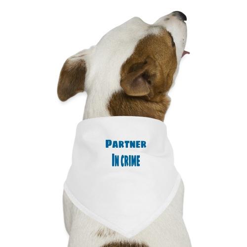 Partner in crime blue - Hundsnusnäsduk