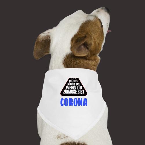 Corona - Hunde-Bandana