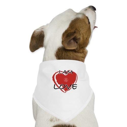 IM LOVE MaitriYoga - Bandana pour chien