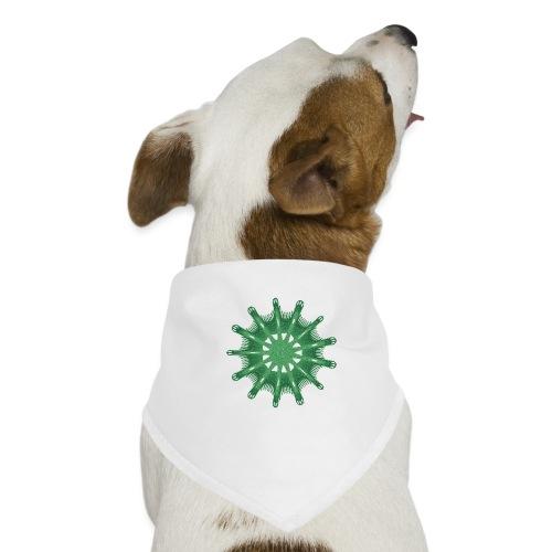 grünes Steuerrad Grüner Seestern 9376alg - Hunde-Bandana