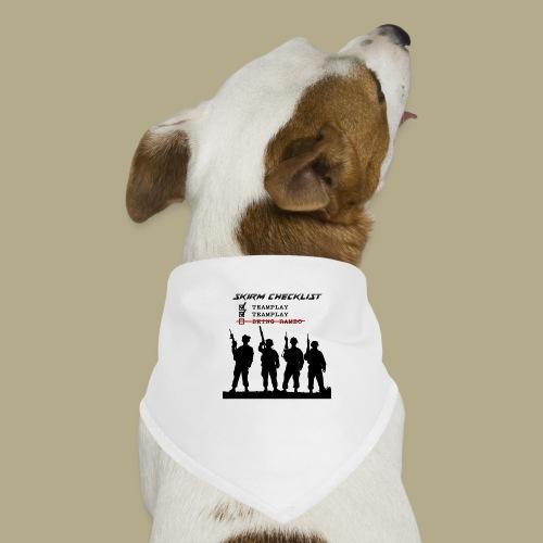 Skirm Checklist - Honden-bandana