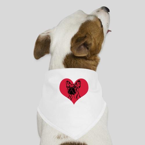 FranzBulldogge im Herz - Hunde-Bandana