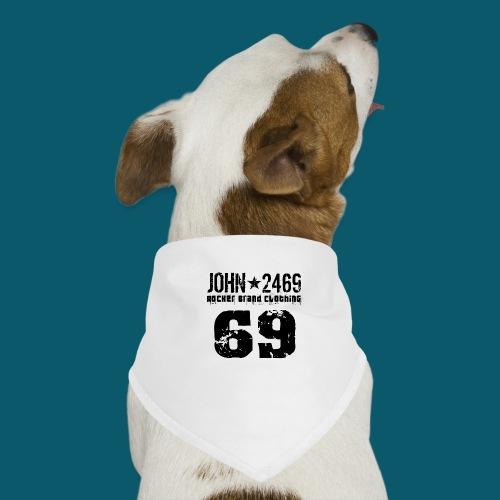 john 2469 numero trasp per spread nero PNG - Bandana per cani