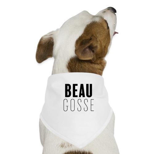 Beau gosse - Bandana pour chien