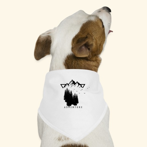 Geometrische Natur 12 - Hunde-Bandana