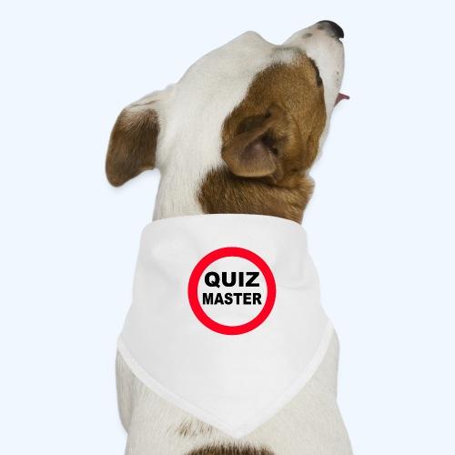 Quiz Master Stop Sign - Dog Bandana