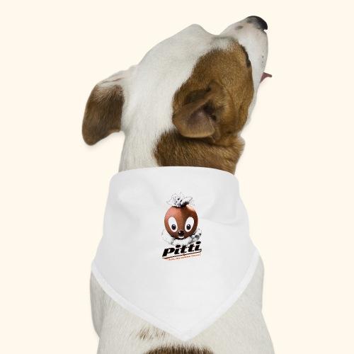 Pittiplatsch 3D Ach, du du meine Nase 3D auf hell - Hunde-Bandana
