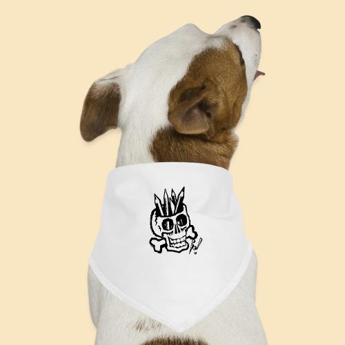 Pencilskull white - Hunde-Bandana