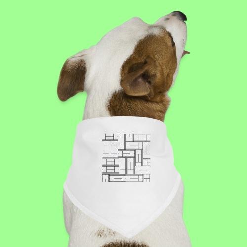 TENISOWY WZÓR - Bandana dla psa