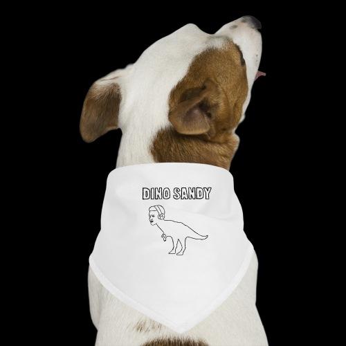 Coras exclusiver Dino Sandy Merch - Hunde-Bandana