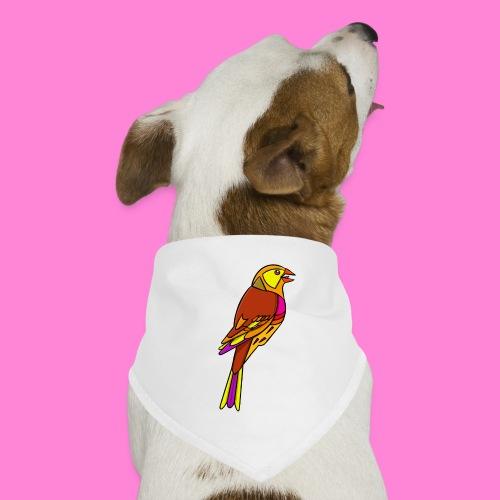 Geelgors illustratie - Honden-bandana