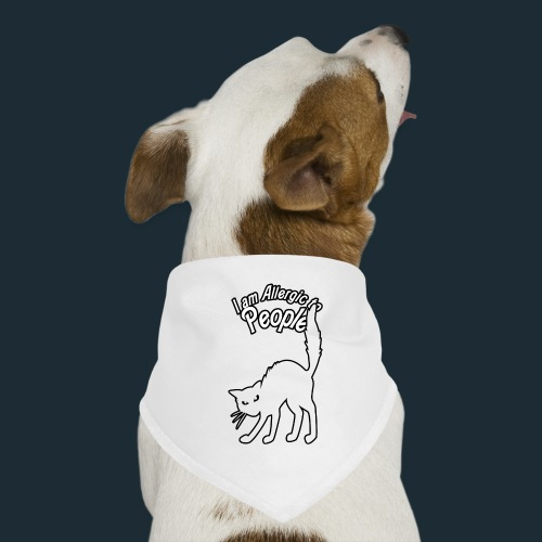 Allergy to People - Dog Bandana