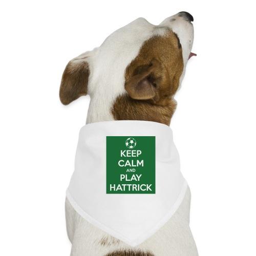 keep calm and play hattrick - Bandana per cani