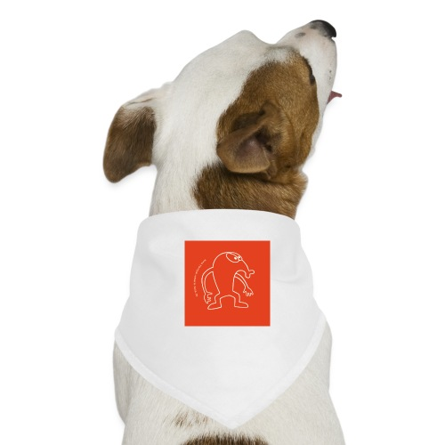 button vektor rot - Hunde-Bandana