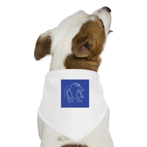 button vektor blau - Hunde-Bandana