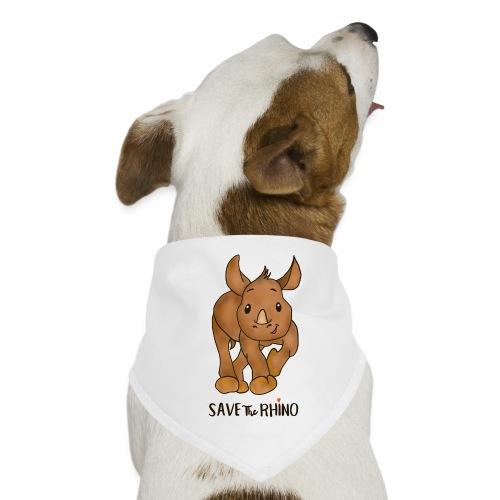 Save the Rhino - Dog Bandana