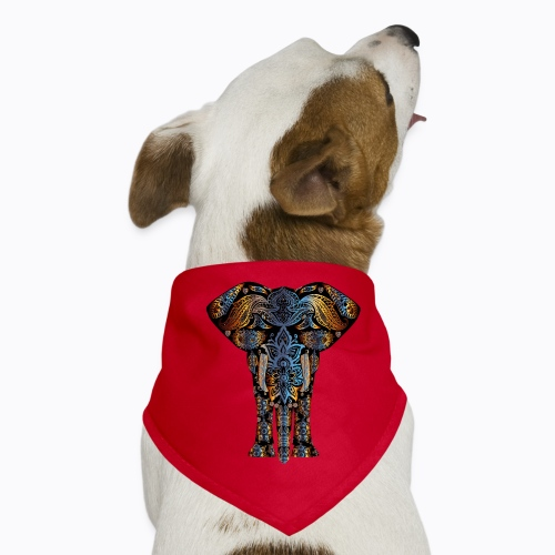 decorative elephant - Dog Bandana