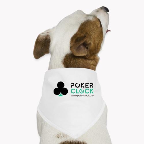 Poker Clock Logo - Hunde-Bandana