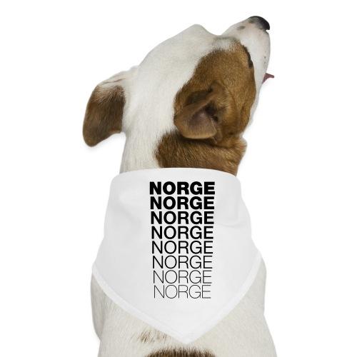 Norge Norge Norge Norge Norge Norge - Hunde-bandana