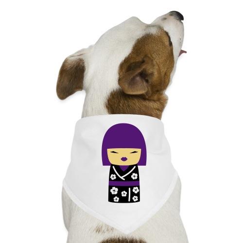 Motif Poupée Japonaise 2 - Bandana pour chien