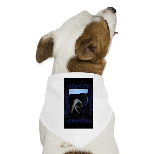 Rykki Lila Logo Handsign R - Hunde-Bandana