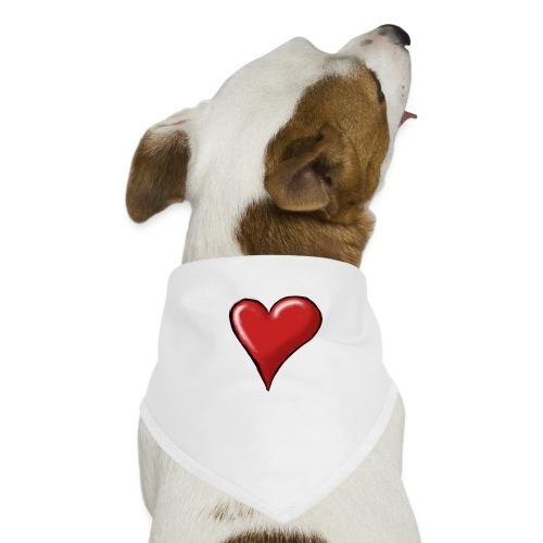Love (coeur) - Bandana pour chien