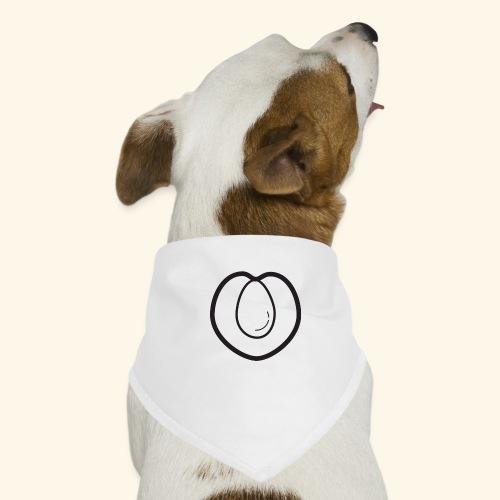 fruits and veggies icons peach 512 - Bandana til din hund