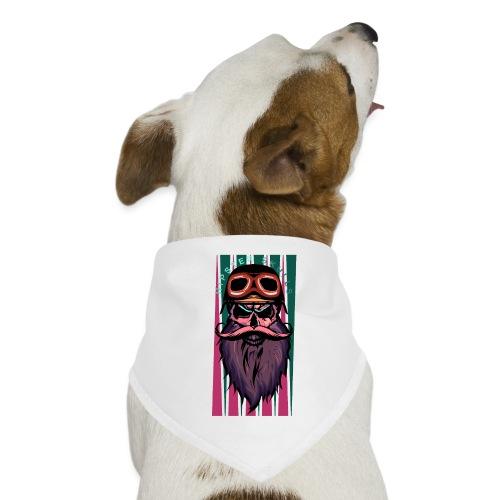 tete de mort hipster crane slull barbe moustache p - Bandana pour chien