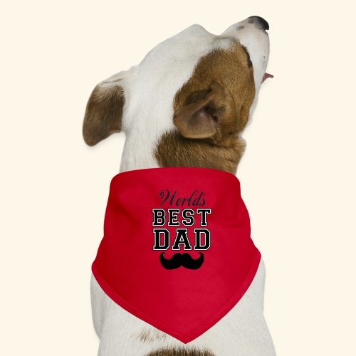 Worlds best dad - Bandana til din hund