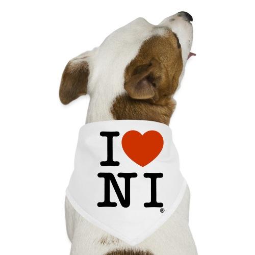 I heart NI - Dog Bandana