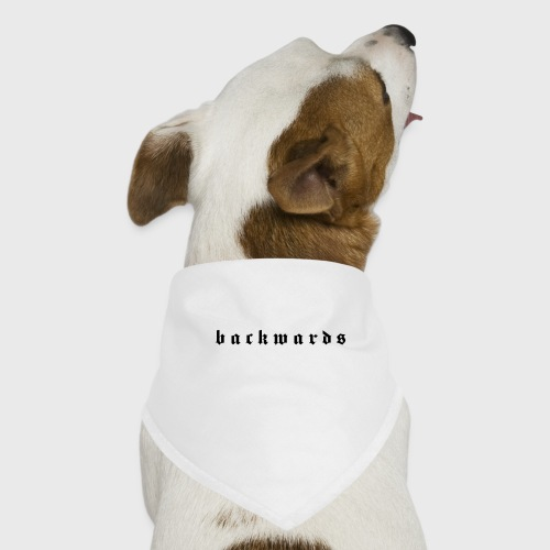 Backwards - Honden-bandana