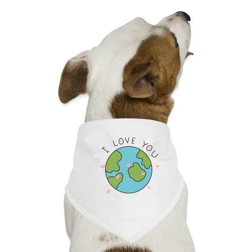 iloveyou - Bandana per cani