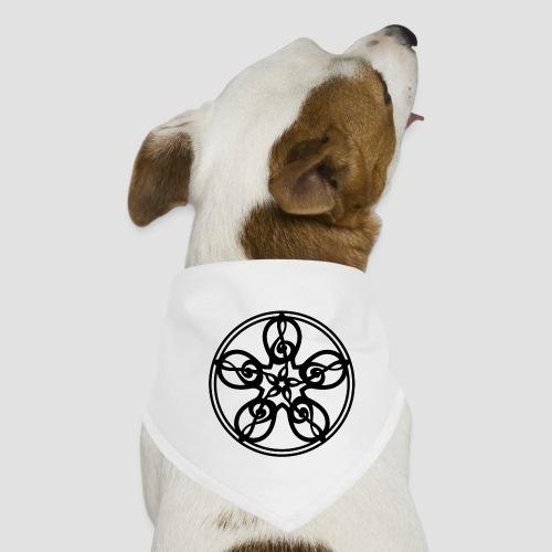 Treble Clef Mandala (black) - Dog Bandana