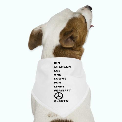 linksversifft - Hunde-Bandana