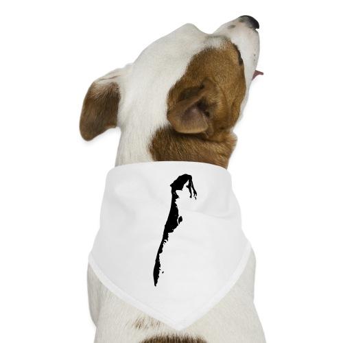 Hiddensee-Karte - Hunde-Bandana