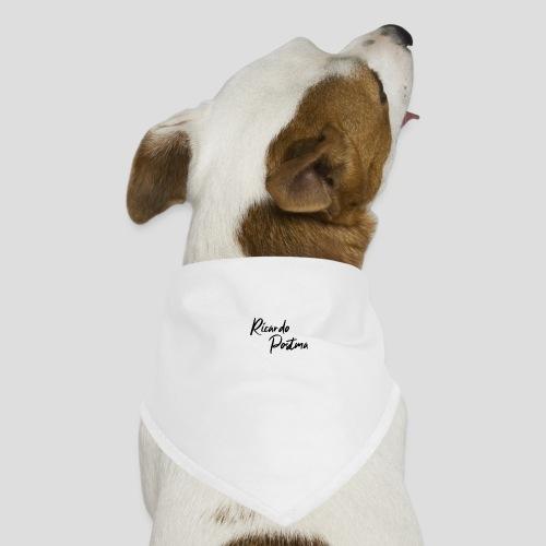 Branding - Black logo - Honden-bandana