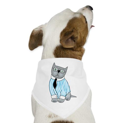 Cat with glasses - Dog Bandana