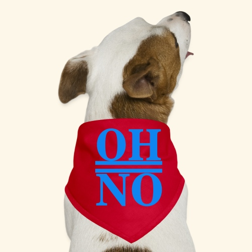 Oh no - Bandana per cani