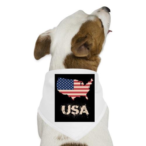 USA FLAG 4th of July With Flag - Hundsnusnäsduk