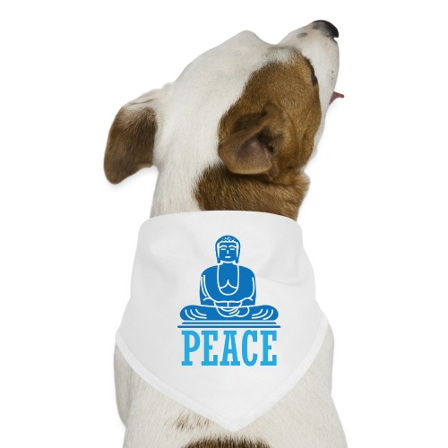 Buddha Meditating. - Dog Bandana