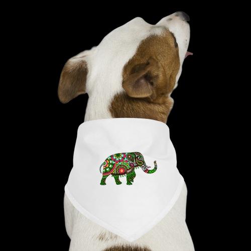 Colorful Elephant - Dog Bandana
