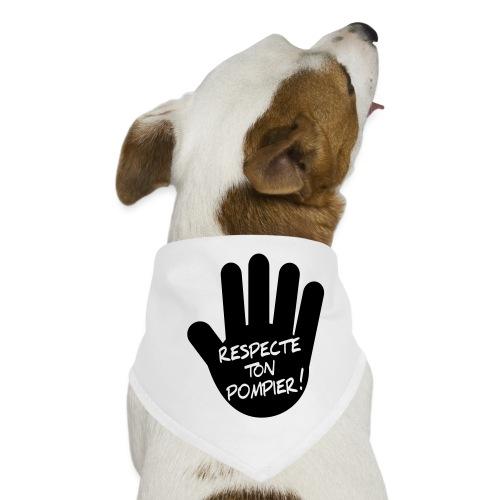 respect_ton_pompier - Bandana pour chien