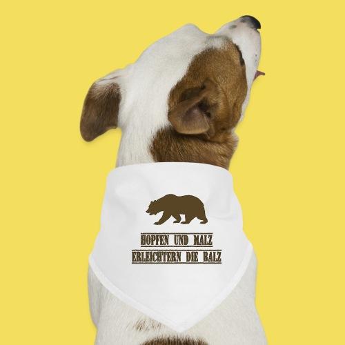 Hopfen und Malz erleichtern die Balz - Hunde-Bandana