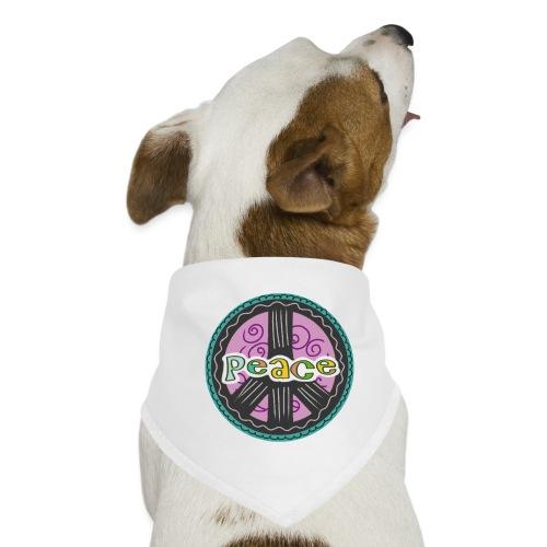 Peace - Hunde-Bandana