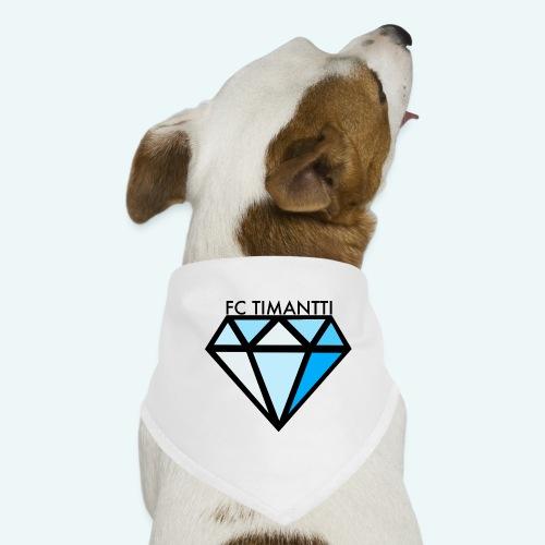 FC Timantti mustateksti - Koiran bandana