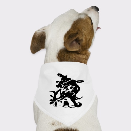 Einhorn Lineart Kollektion - Hunde-Bandana