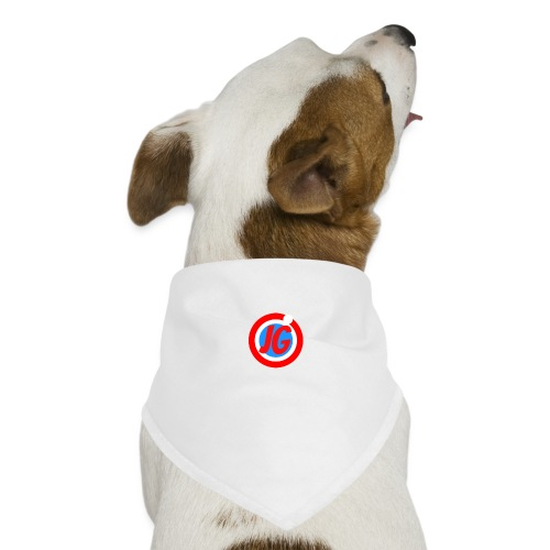 TEAM JG Logo top - Dog Bandana